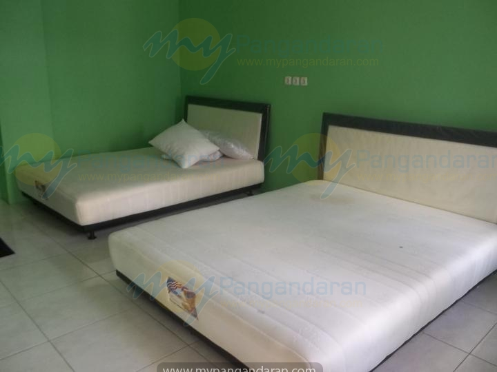 Kamar Tidur Pondok Wisata The Amerta Pangandaran